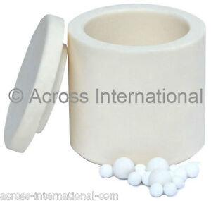 100ml Alumina Ceramic Lab Planetary Ball Mill Grinding Jar W Ball Media
