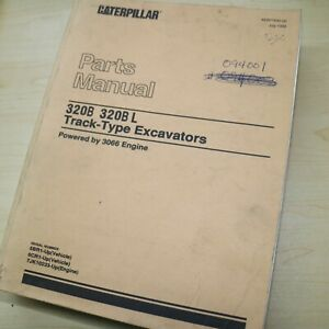 Cat Caterpillar 320b L Excavator Parts Manual Book Catalog Crawler List Spare
