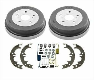Rear Drums Brake Shoes Spring Kit For Toyota Camry 4pc 1992 1999