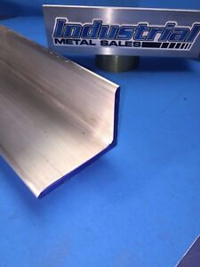 6061 T651 Aluminum Angle 3 X 4 X 72 Long X1 4 Thick