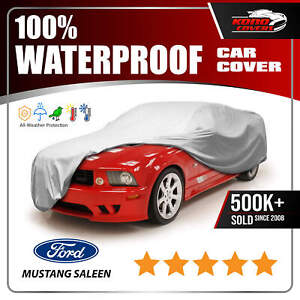 Ford Mustang Saleen Shelby 6 Layer Car Cover 1999 2000 2001 2002 2003 2004 2005