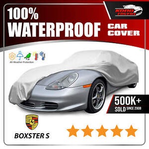 Porsche Boxster S 6 Layer Car Cover 1997 1998 1999 2000 2001 2002 2003 2004
