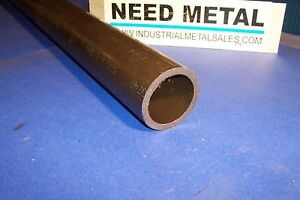 Dom Steel Round Tube Seamless 2 1 2 Od X 36 long X 1 4 wall dom 2 5 Od X 250