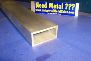 6063 Aluminum Rectangle Tube 2 X 4 X 60 X 1 4 Wall 2 X 4 X 250 Wall
