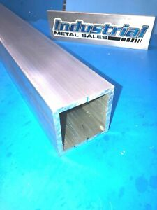 3 X 72 long X 1 4 Wall 6061 T6 Aluminum Square Tube 3 X 250 Wall