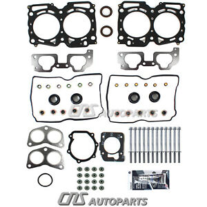 Fits 99 05 Subaru Impreza 2 5l Sohc W Upgraded Mls Head Gasket Bolts Set Ej25
