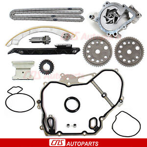Ref 9 4201s 00 08 Chevy Saturn 2 0 2 2 Dohc Ecotec Timing Chain Water Pump Kit