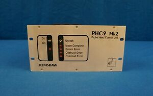 Renishaw Cmm Phc9mk2 Motorized Probe Head Controller Ieee With Warranty