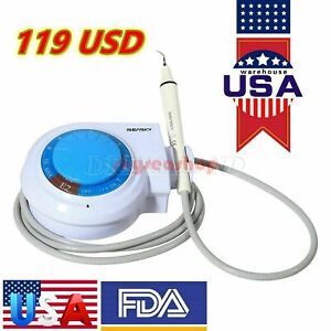 Dental Ultrasonic Piezo Scaler With Handpiece Tips Fit Ems woodpecker Dentist Sp