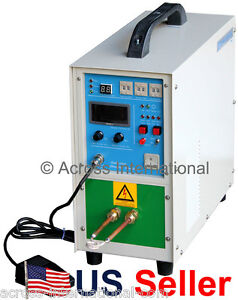4kw 100 250khz Solid State Compact Induction Heater Melting Furnace With Timers
