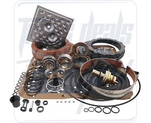 Turbo 350 Th350 Alto Red Eagle High Performance Deluxe Transmission Rebuild Kit