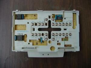 Honeywell Q7300c2012 411027 Heat Pump Subbase t7300e t7300f Thermostat 165587