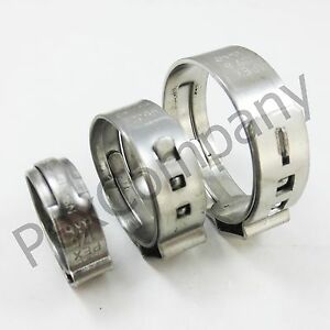 250 1 Pex Stainless Steel Clamps Cinch Pinch Rings Astm Nsf Certified Ssc 4