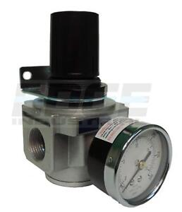 Industrial Grade Heavy Duty In Line Compressed Air Pressure Regulator 3 4 Npt
