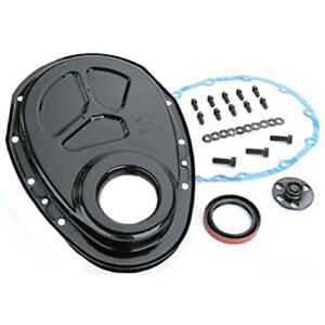 Comp Cams 208 One Piece Steel Timing Cover Small Block Chevy