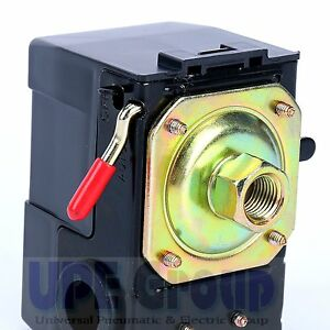 New Pressure Switch Valve For Air Compressor Replaces Square D 95 125 1port