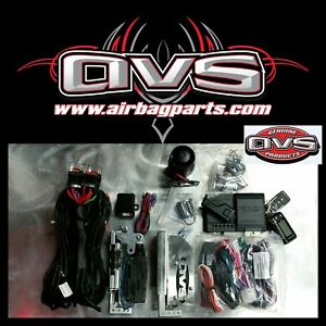 Avs Complete Remote Start Large Claw Style Latches Kit Hotrods Rat Rods Pop