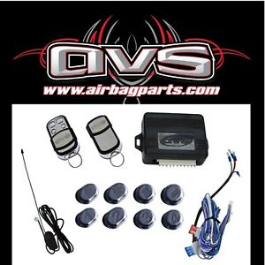 Avs 8 Channel Remote System Air Suspension Shaved Door System Free Shipping