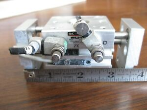 Smc Mhl2 10d Parallel Style Wide Opening Air Gripper Linear Flow Metering Valves