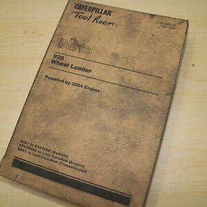Cat Caterpillar 926 Wheel Loader Parts Manual Book 94z Catalog Spare Front End
