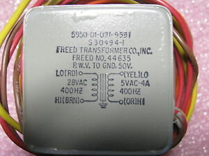 Freed Transformer L3 P n 44635 And S30494 1 Nsn 5950 01 091 9591