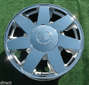 1 Brand New 2004 Chrome Cadillac Deville Dts 17 Inch Factory Oem Spec Wheel 4572