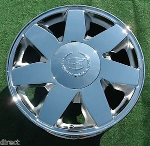 1 Brand New 2003 Chrome Cadillac Deville Dts 17 Inch Factory Oem Spec Wheel 4572