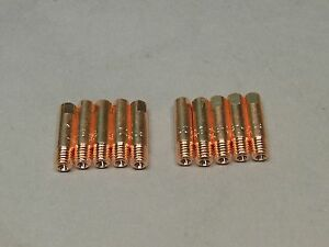 10 035 199388 Spoolmate 250 3545 Mig Welder Contact Tips Tubes Miller Parts