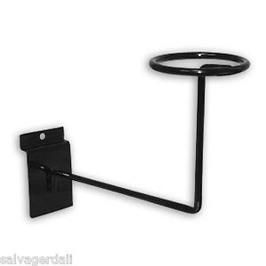 Hat Cap Slatwall Slatgrid Black Display Fixture Lot Of 24 Free Shipping New