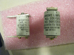Westinghouse Current Limiter 100fbp06 Nsn 5925 01 028 5734 Style 5682d57g05