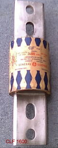 Used General Electric Clf Fuse 1600 Amp 600 Volt Clf 1600
