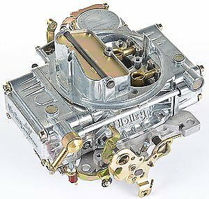 Holley 0 1850s 600 Cfm Carburetor Manual Choke