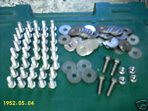 Stainless Vw Bug Fender Bolts Kit All Years