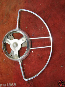 1948 1949 1950 Packard Steering Wheel Horn Ring 403526 Very Good Condition
