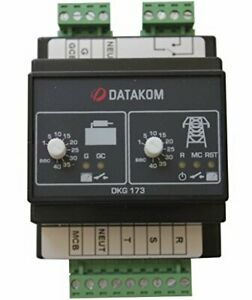 Datakom Dkg 173 230 400v Generator Mains Automatic Transfer Switch Panel ats