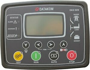 Datakom Dkg 329 Generator mains Automatic Transfer Switch Control Panel Ats
