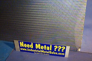 Expanded Metal Sheet Diamond Pattern 035 X 12 X 36 1 4 20 Expanded Steel
