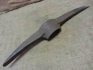 Vintage Miner S Pick Head Antique Tools Old Miner Axe Mine Cave Mining 6885