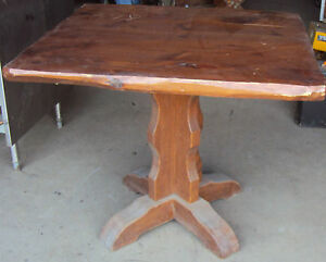 Wooden Wood Table 2 Tables Available