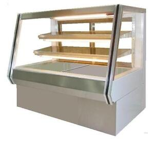 Coolman Commercial Dry non refrigerated Counter Bakery Pastry Display Case 60