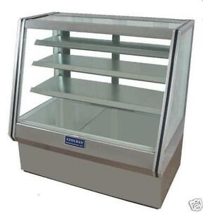 New Coolman Dry Bakery Pastry Display Case 48 High Bakery