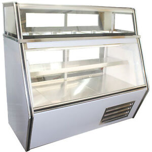 Coolman Commercial Refrigerated 7 11 Style Deli Meat Case 72