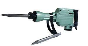 1500w Demolition Electric Jack Hammer 1500 Watt 1400bpm Concrete Breaker 2 Bits