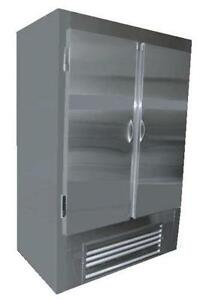 Coolman Commercial Stainless Steel 2 door Reach in Cooler 54
