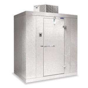 Norlake Nor lake Walk In Freezer 4 x 6 x 7 7 H Klf7746 c 10f Self contained