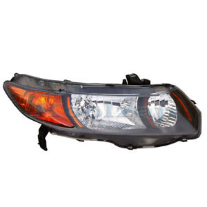 06 09 Civic Si Coupe 2 0 Headlight Headlamp Head Light Lamp Right Passenger Side