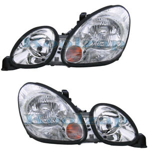 98 05 Gs 300 400 430 Headlight Headlamp Head Light Lamp Left Right Side Set Pair