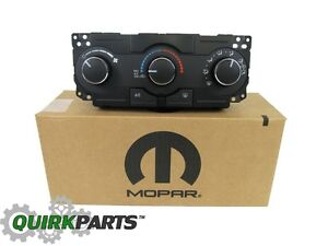 2006 2010 Dodge Charger Magnum Chrysler 300 A C Heater Control Unit Mopar Oem