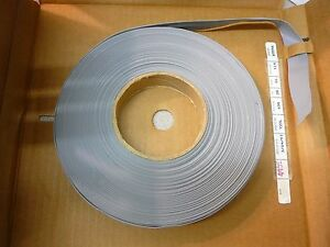 New Alpha Wire 3580 16 Grey with Red Stripe Flat Cable 16cond 28awg 100 Feet