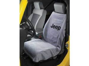 Jeep Wrangler Cherokee Commander Compass Liberty Patriot Gray Seat Cover Towel